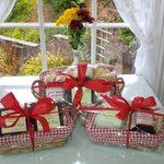 Gift Baskets now available - With Homemade Jams and Loose Leaf Teas
