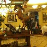 saletta interna, cavallo
