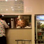 The counter where food is released looks clean but again, it depends on staff.