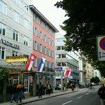 Hotel Wartmann next to Winterthur station