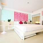 ห้องพักสีสวยมาก