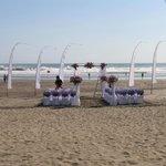 beach ceremony at ABC