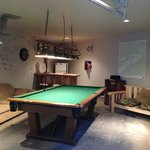 Billard room and Wading gear drying room