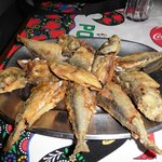 grilled fish on the food tour