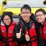 Bumpy ride made us wet! Woohooo!