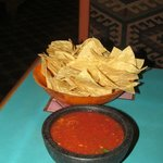 Chips and salsa were great