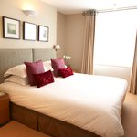 Luxury bedrooms at 23 Greengarden House, serviced apartments in London's West End
