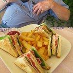 My partner's Club Sandwich