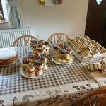 Special afternoon tea for the family