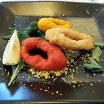 Calamares (de espinacas, de naranja, etc.......)