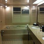 big bright bathroom !