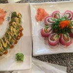 Caterpillar Roll & Red Lady Roll