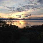 Vue sur le Loch Fyne de la chambre.