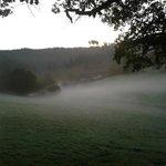 Ein Herbstmorgen im Park