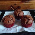Muffin de chocolate!!! Riquísimos