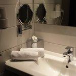 Sauberes Badezimmer