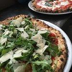 Pizza Rucola and Pizza Margarita