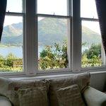 Blick aus dem Zimmerfenster