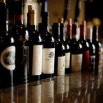 Wine at the bar