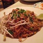 Obvious Pad Thai selection is obvious. Also, tasty as hell.