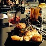 Awesome sangria and tapas!