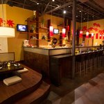 Enjoy our Japanese movies and cartoons at the sushi bar