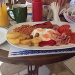 Just a light breakfast at Marabou !