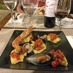 Ravioli mit Meeresfrüchten