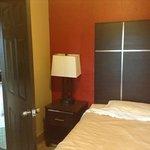second room suite with door to main room on left