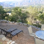 Ojai Suite private natural porch