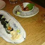 rolls and nigiri