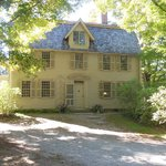 The Old Manse occupies a charming setting just by the Concord Bridge