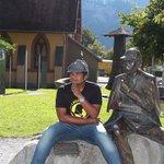 @ Sherlock Statue