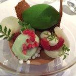 Masterpiece dessert.
