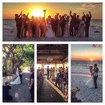 magical wedding at the Beach club