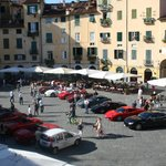 view of the piazza - Ferari day