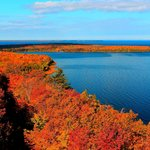 A blanket of color covers Peninsula State Park