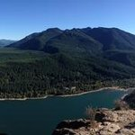 View from the top - rattlesnake lake