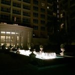 night time at the Ritz