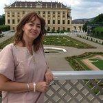 En el Palacio de Schonbrunn