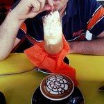 Cafe helado y Capuchino♡
