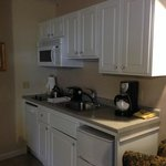 Kitchenette, fully equipped
