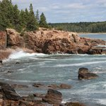 Small inlet near Thunder Hole in Acadia National Park