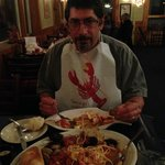 The seafood platter - half done.....forgot to take it sooner!