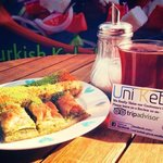 Enjoying the Weather with cay & Baklava
