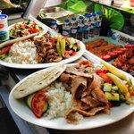Chicken Doner / Lamb Doner Meals