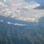 Viata aérea da belíssima região de Forest Grove onde está o hotel