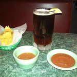 beer and salsa