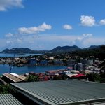 View of Castries from Mont Fortune