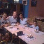 Con Mi familia en el Restaurant Kasalta